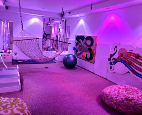 غرفة آيرس الحسية في جمعية رعاية الأطفال في نابلسل