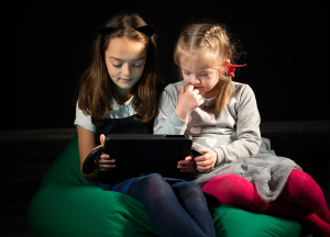 two girls using sensoryREADY, MIT Solve for equitable classrooms challenge