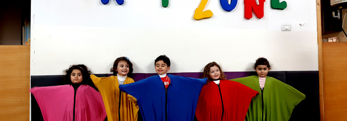 The role of the sensory environment in nurseries in developing children's cognitive skills